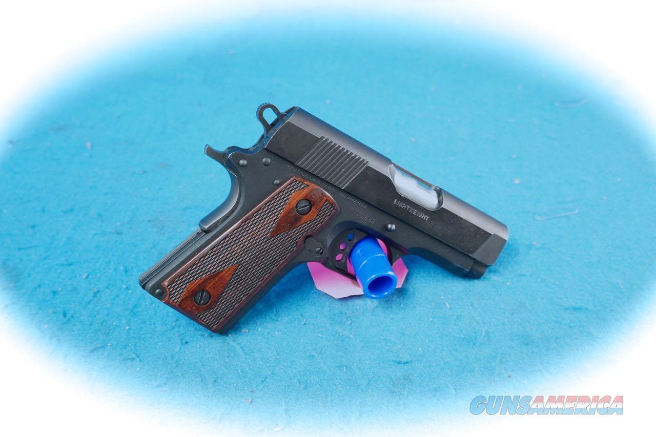Colt 1911 New Agent .45 ACP Pistol (Used)  Guns > Pistols > Colt Automatic Pistols (1911 & Var)