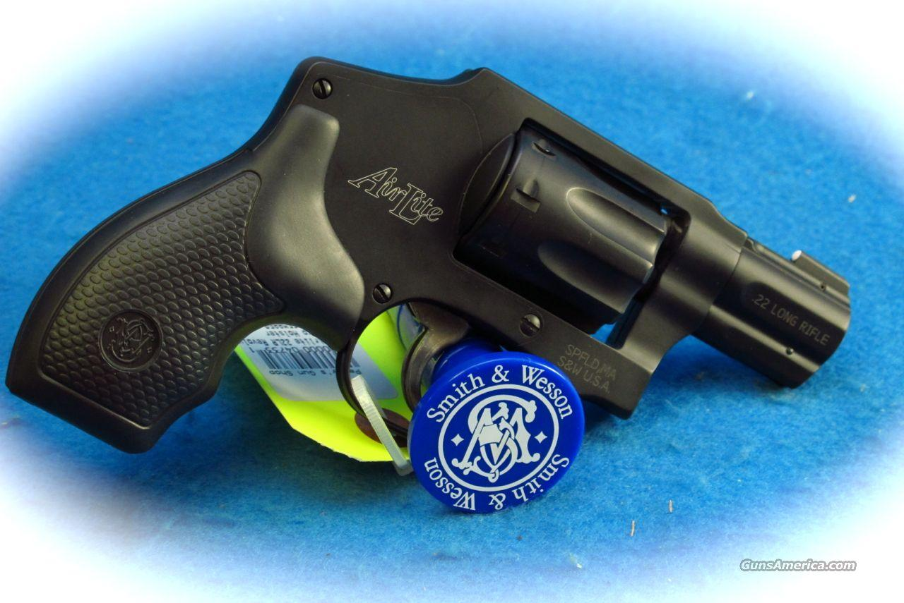 Smith & Wesson Model 43C .22LR 8 Shot Revolver **USED**  Guns > Pistols > Smith & Wesson Revolvers > Pocket Pistols