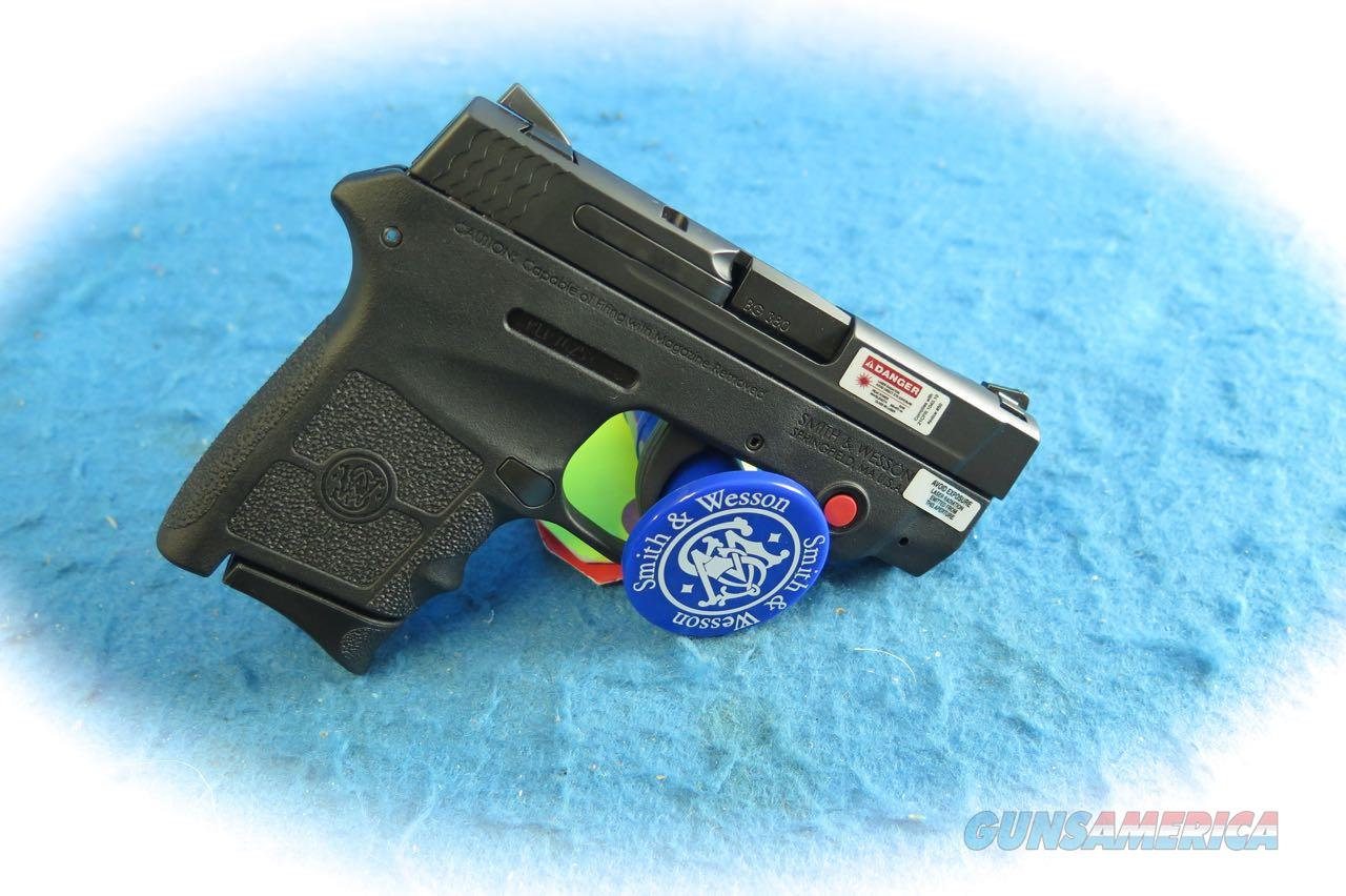 Smith & Wesson M&P Bodyguard 380 Pistol W/ Laser No T/S SKU 10265 **New** On Sale  Guns > Pistols > Smith & Wesson Pistols - Autos > Polymer Frame