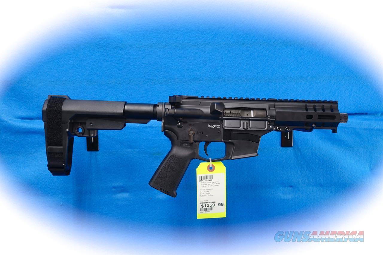 "CMMG Banshee 300 .45 ACP Pistol ""Graphite Black"" **New**  Guns > Pistols > CMMG > CMMG Pistols"