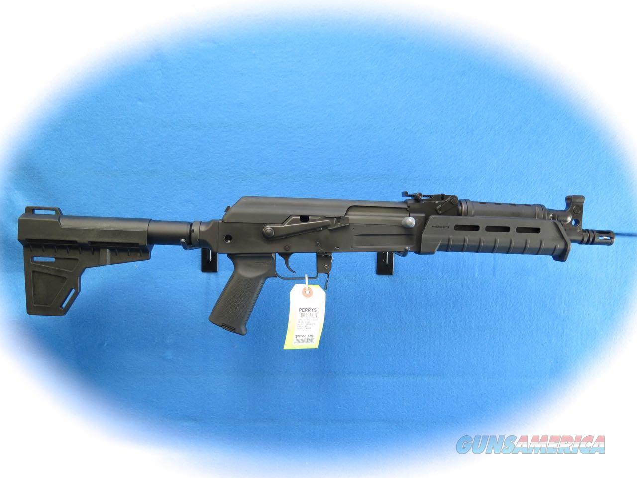 Century Arms C39V2 Pistol W/Shockwave Bade 7.62x39mm Cal **New**  Guns > Pistols > Century International Arms - Pistols > Pistols