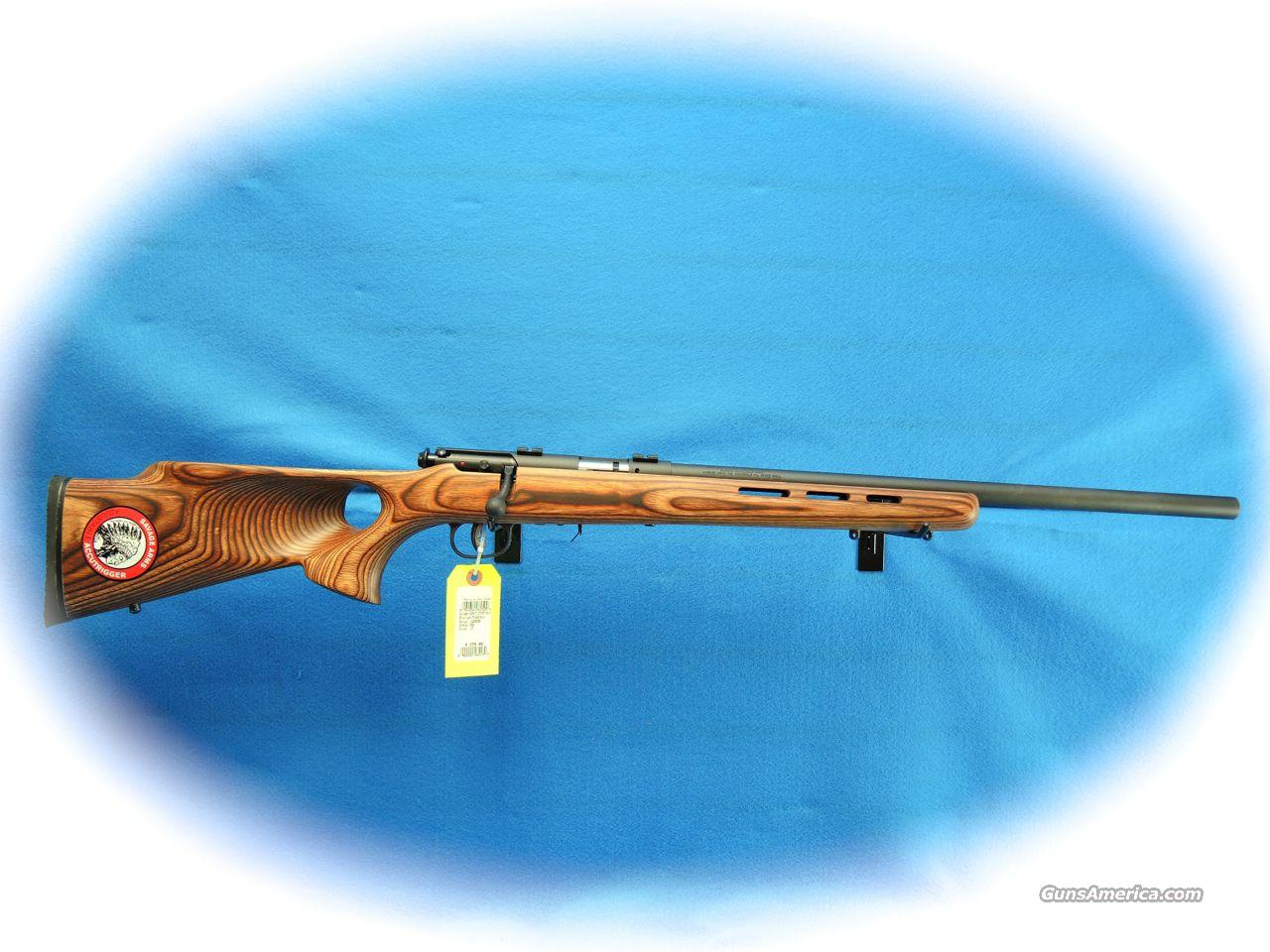 Savage Model 93R17 BTV 17 HMR Bolt Action Rifle **New**  Guns > Rifles > Savage Rifles > Accutrigger Models > Sporting