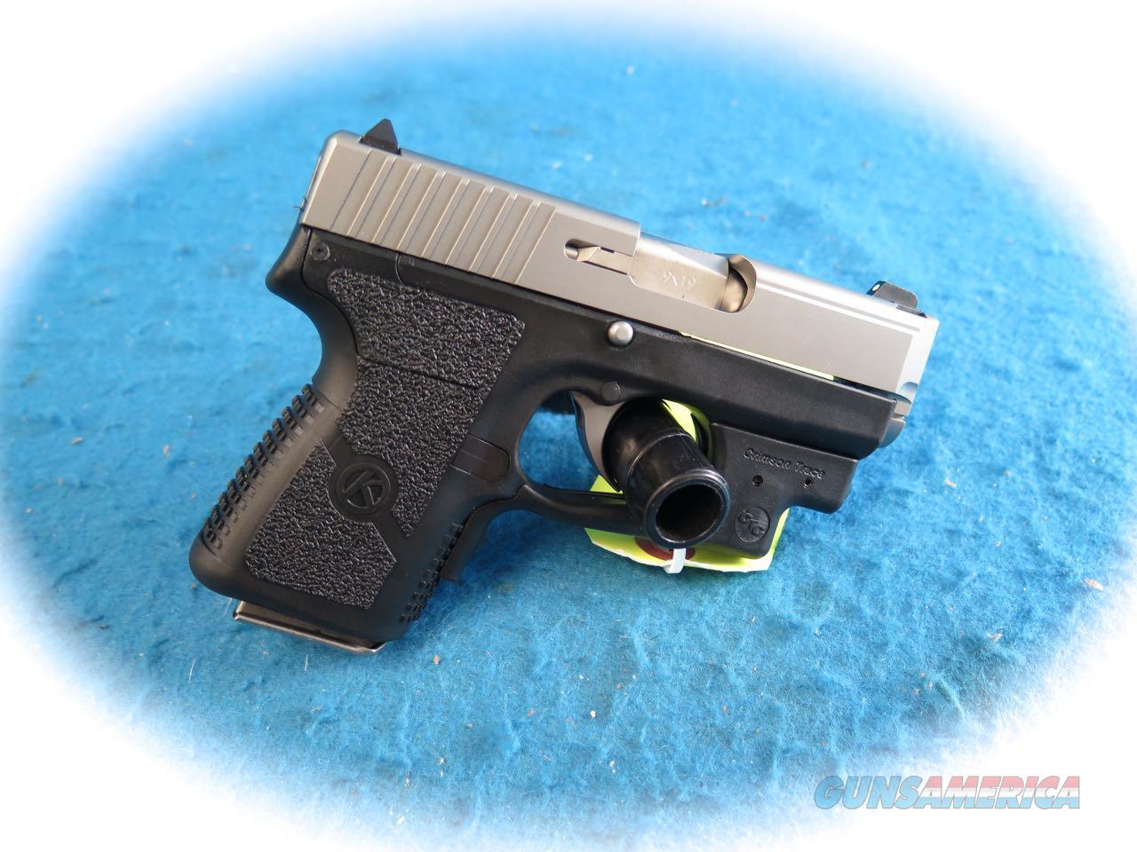 Kahr PM9 9mm Semi Auto Pistol W/CT Laserguard **New**  Guns > Pistols > Kahr Pistols