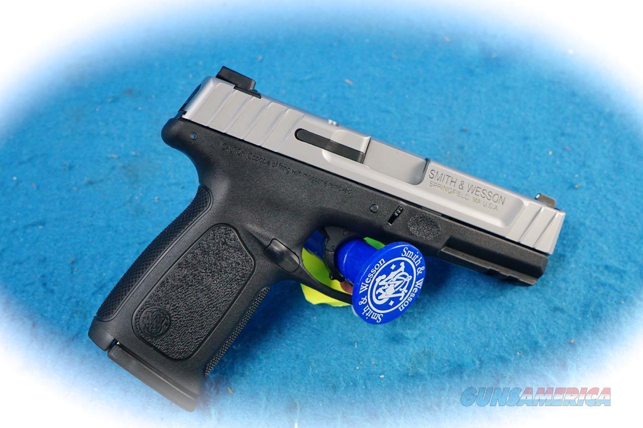 Smith & Wesson SD9 VE 9mm Semi Auto Pistol Model 223900 **New**  Guns > Pistols > Smith & Wesson Pistols - Autos > Polymer Frame