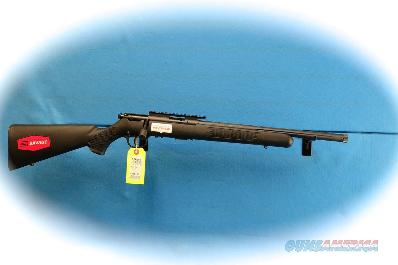 Savage Arms MKII FV-SR .22 LR Bolt Action Rifle Model 28702 W/TB **New**  Guns > Rifles > Savage Rifles > Accutrigger Models > Sporting
