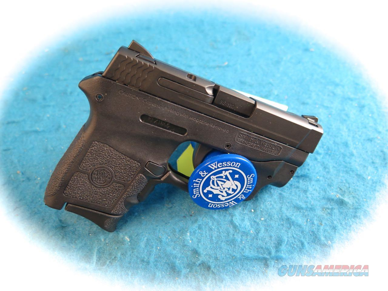 Smith & Wesson M&P Bodyguard w/ CT Green Laserguard SKU 10178 **New**  Guns > Pistols > Smith & Wesson Pistols - Autos > Polymer Frame