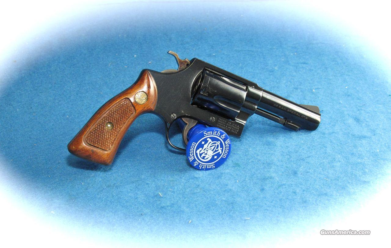 Smith & Wesson Model 36-1 3 inch Bbl 38 Spl. Blue **USED**  Guns > Pistols > Smith & Wesson Revolvers > Pocket Pistols