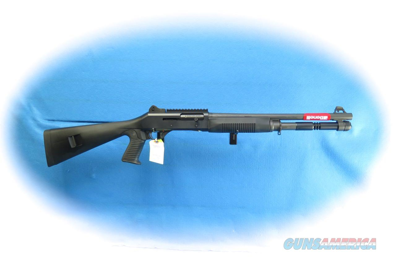 Benelli M4 12 Gauge Semi Auto Tactical Shotgun Black Synthetic Model 11707 **New**  Guns > Shotguns > Benelli Shotguns > Tactical