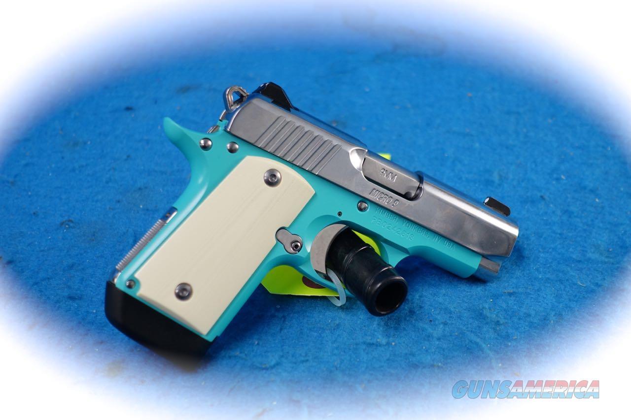 Kimber Micro 9 Bel Air 9mm Pistol Model 3300110 **New**  Guns > Pistols > Kimber of America Pistols > Micro 9