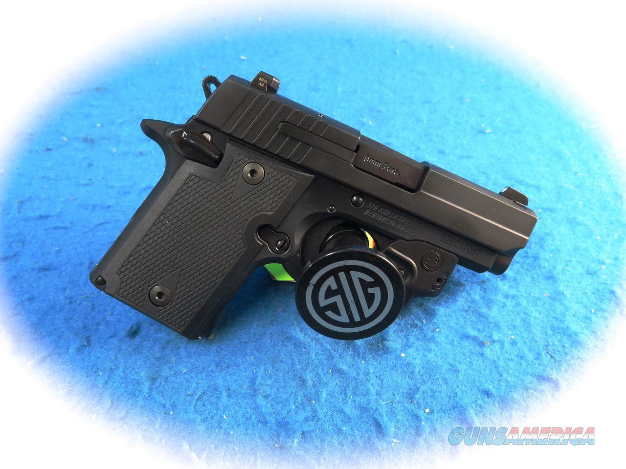 Sig Sauer P938 9MM Semi Auto Pistol W/Free Laser **New**  Guns > Pistols > Sig - Sauer/Sigarms Pistols > P938