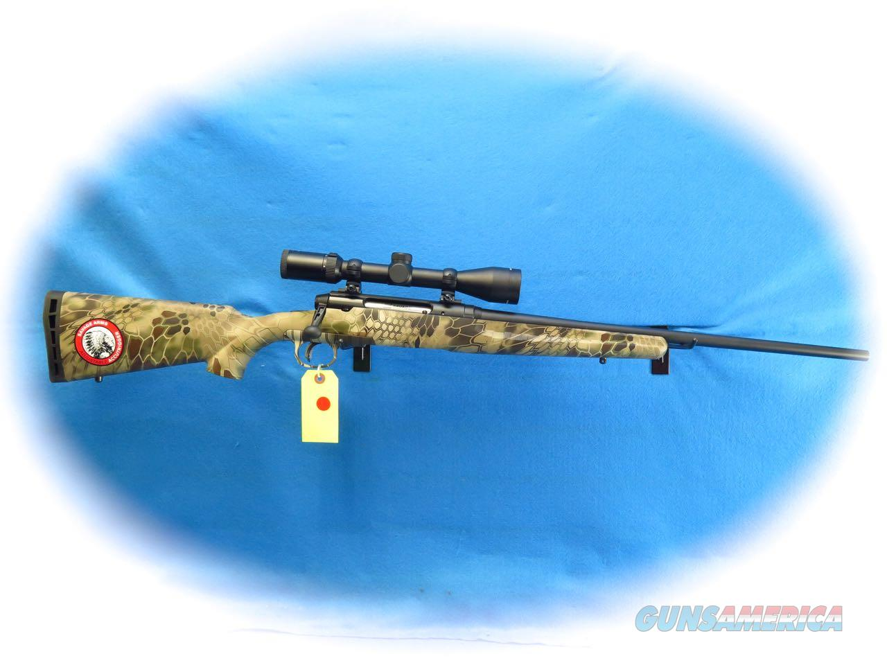 Savage Axis II XP Rifle/Scope Pkg .308 Win Cal Kryptek Highlander Camo **New**  Guns > Rifles > Savage Rifles > Accutrigger Models > Sporting