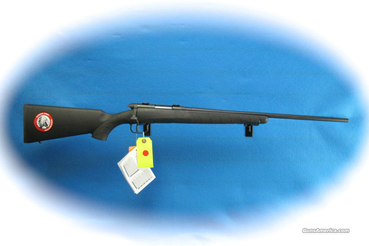 Savage BMag .17 WSM Bolt Action Rifle **New**  Guns > Rifles > Savage Rifles > Accutrigger Models > Sporting