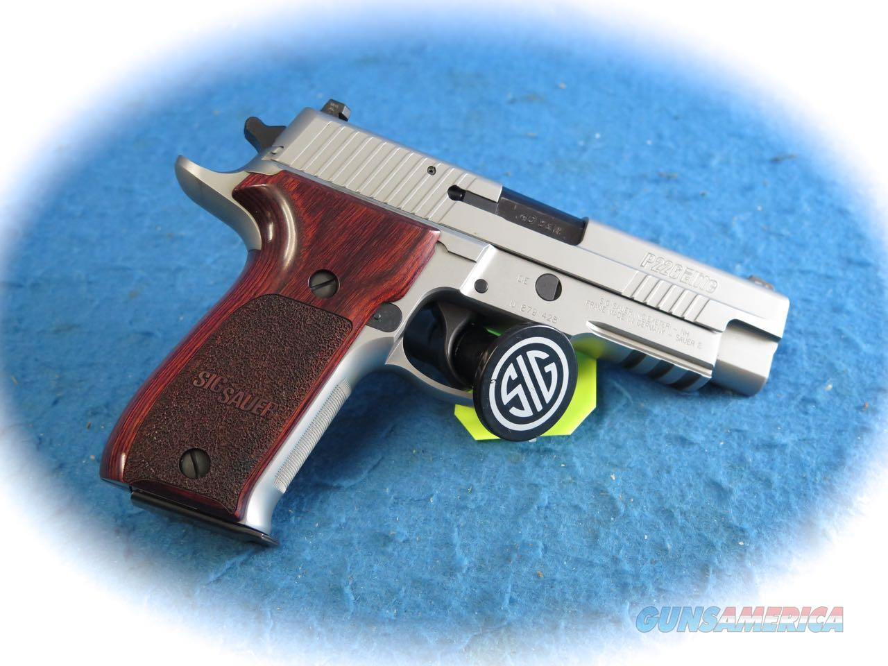 Sig Sauer P226 Elite .40 S&W Cal SS Pistol **Used**  Guns > Pistols > Sig - Sauer/Sigarms Pistols > P226