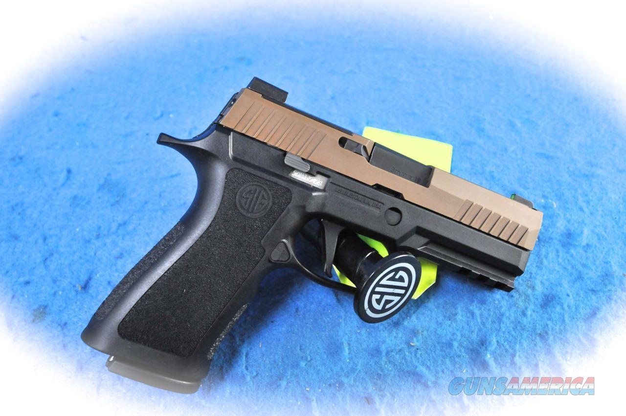 Sig Sauer P320 X-Carry Two Tone 9mm Pistol Model 320XCA9TXR3COY  **New**  Guns > Pistols > Sig - Sauer/Sigarms Pistols > P320