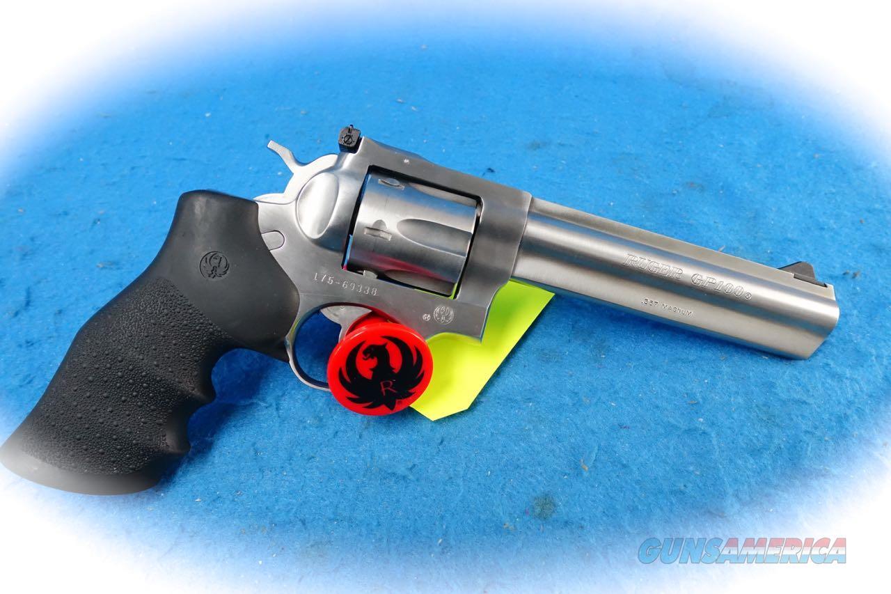 Ruger GP100 SS .357 Magnum Revolver **Used**  Guns > Pistols > Ruger Double Action Revolver > GP100
