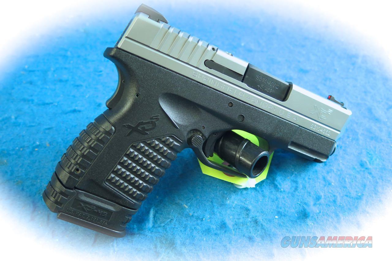 Springfield Armory XD-S 45 3.3 .45ACP Pistol **USED**  Guns > Pistols > Springfield Armory Pistols > XD-S