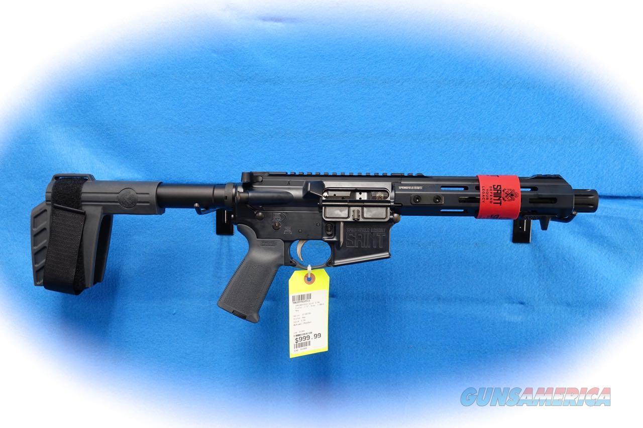 Springfield Armory Saint Pistol 5.56mm Tactical Grey **New**  Guns > Pistols > Springfield Armory Pistols > SAINT Pistol