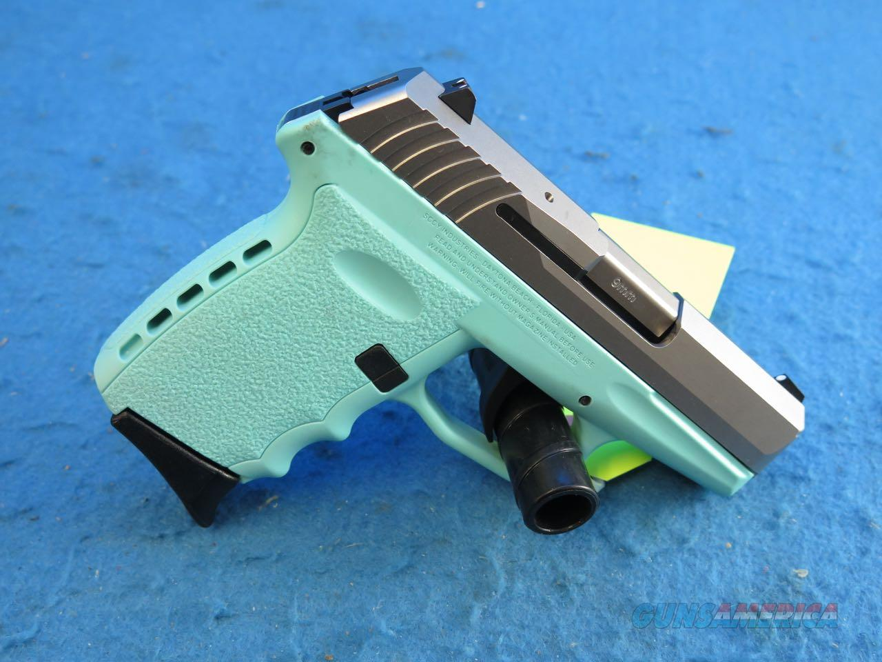 SCCY Model CPX-2 CBSB Blue/SS 9m Pistol **New**  Guns > Pistols > SCCY Pistols > CPX2