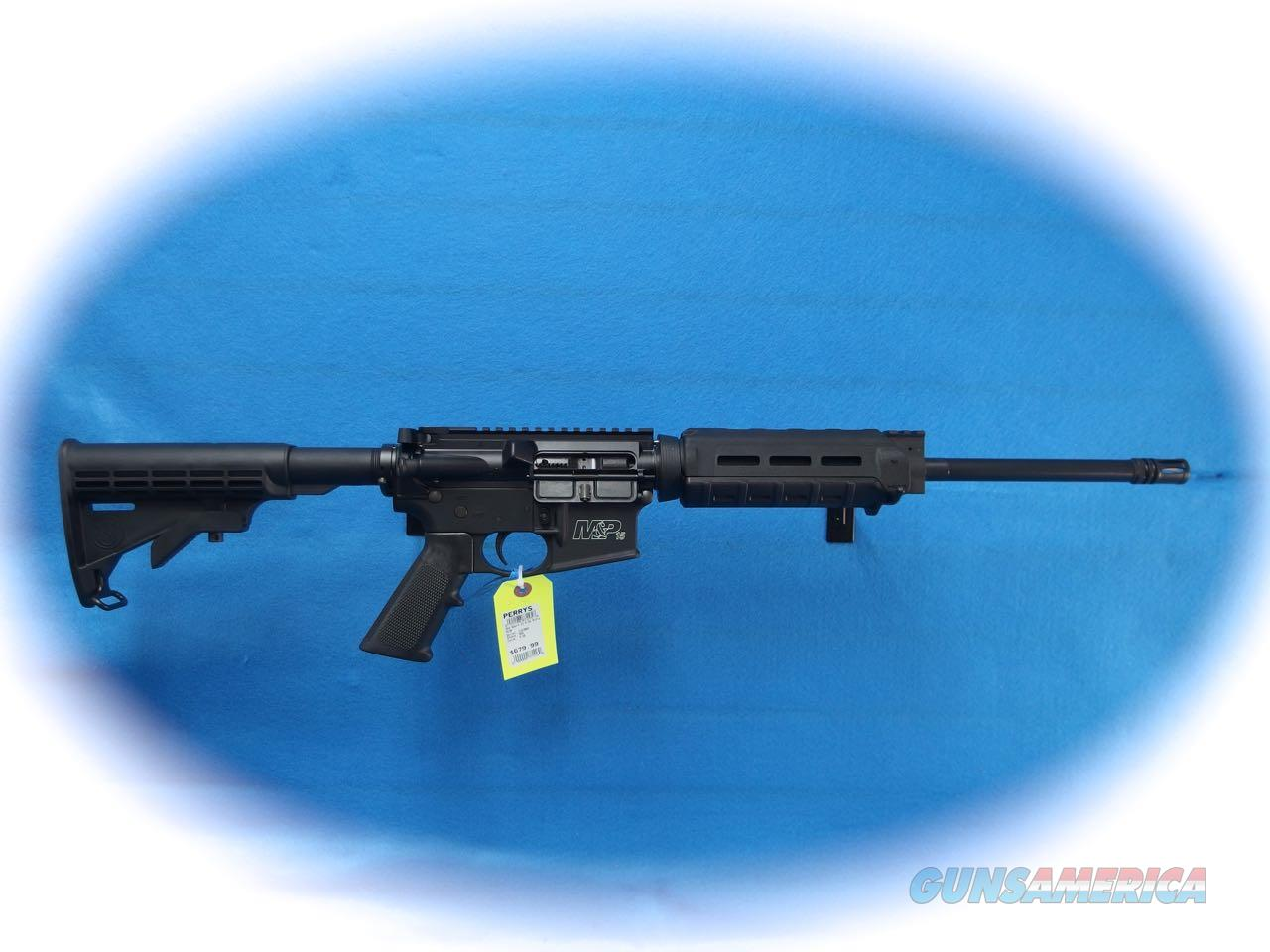 M&P15 SPORT II OPTICS READY WITH M-LOK HANDGUARD 5.56mm Cal **New**  Guns > Rifles > Smith & Wesson Rifles > M&P