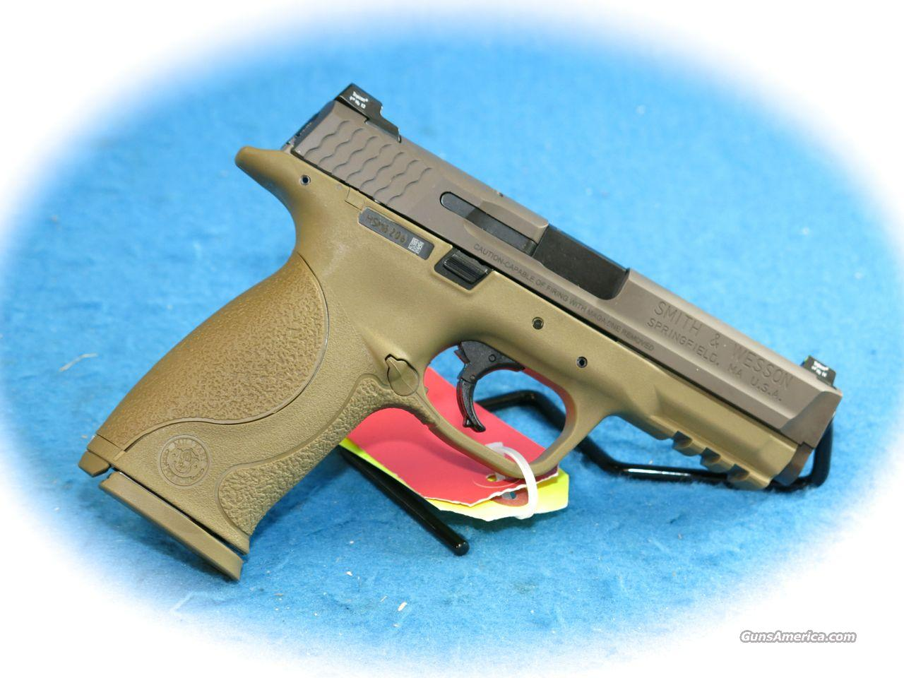 Smith & Wesson M&P40 VTAC Viking Tactics .40 S&W Pistol FDE **New**  Guns > Pistols > Smith & Wesson Pistols - Autos > Polymer Frame