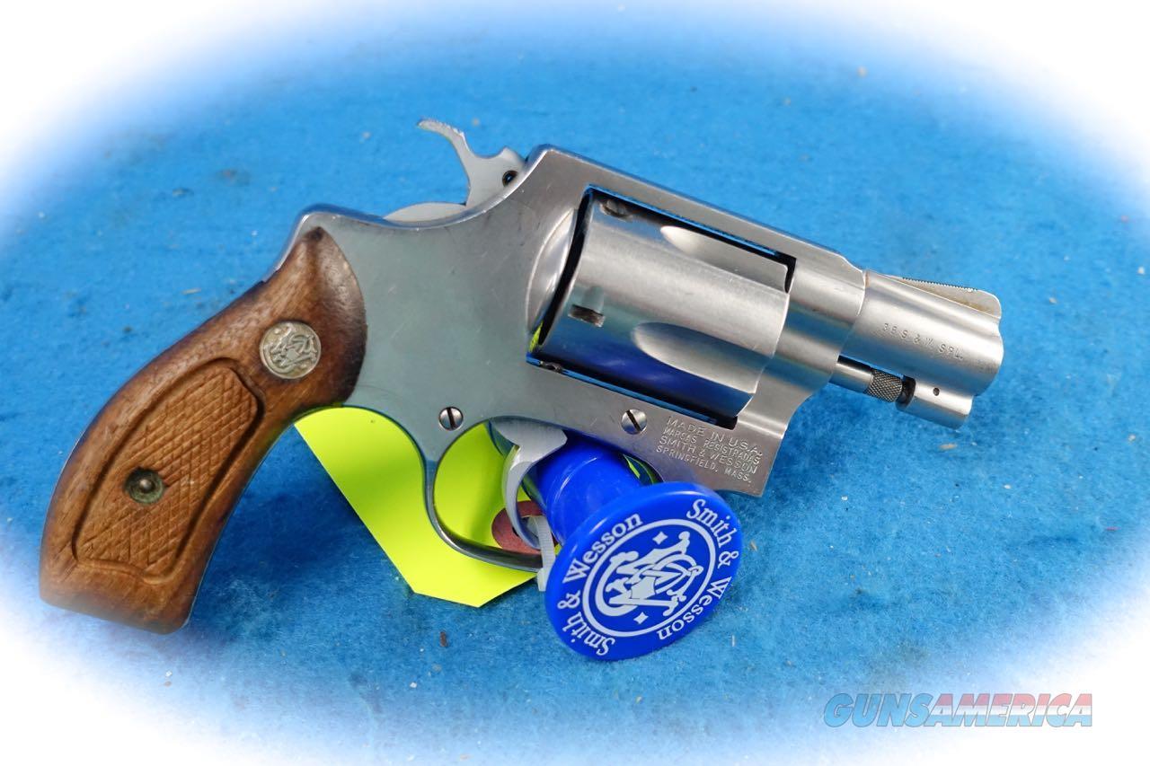 Smith & Wesson Model 60-7 SS .38 Spl Revolver **Used**  Guns > Pistols > Smith & Wesson Revolvers > Small Frame ( J )