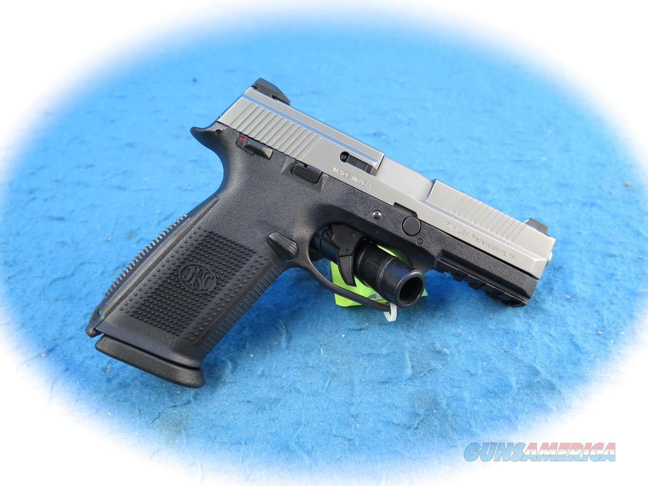 FN-FNS 9mm Two-Tone Semi Auto Pistol Model 66926 **As New**  Guns > Pistols > FNH - Fabrique Nationale (FN) Pistols > FNS