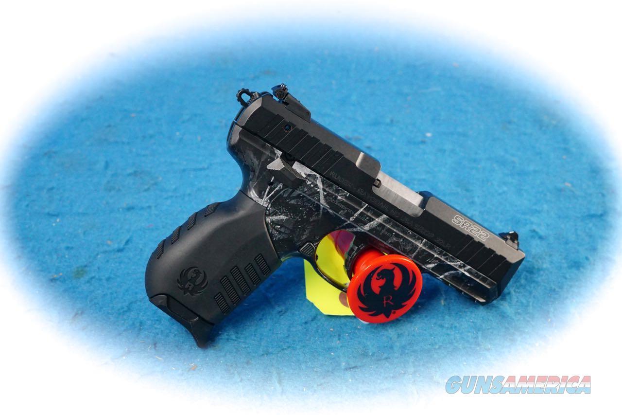 Ruger SR22 Semi Auto .22LR Pistol Model 3637 **New**  Guns > Pistols > Ruger Semi-Auto Pistols > SR Family > SR22