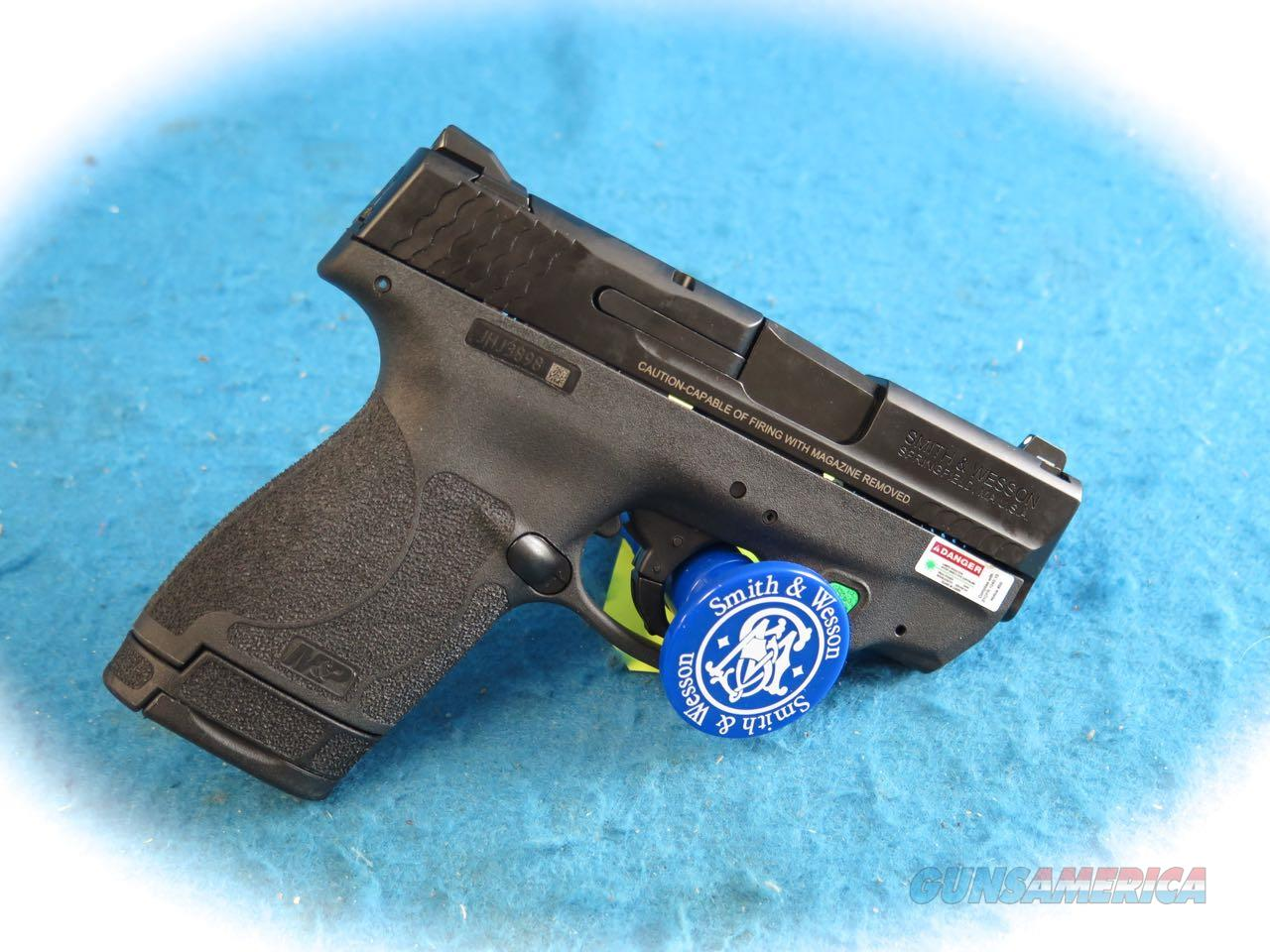 Smith & Wesson M&P9 Shield 2.0 Integrated CT Green Laser 9mm Pistol **New**  Guns > Pistols > Smith & Wesson Pistols - Autos > Shield