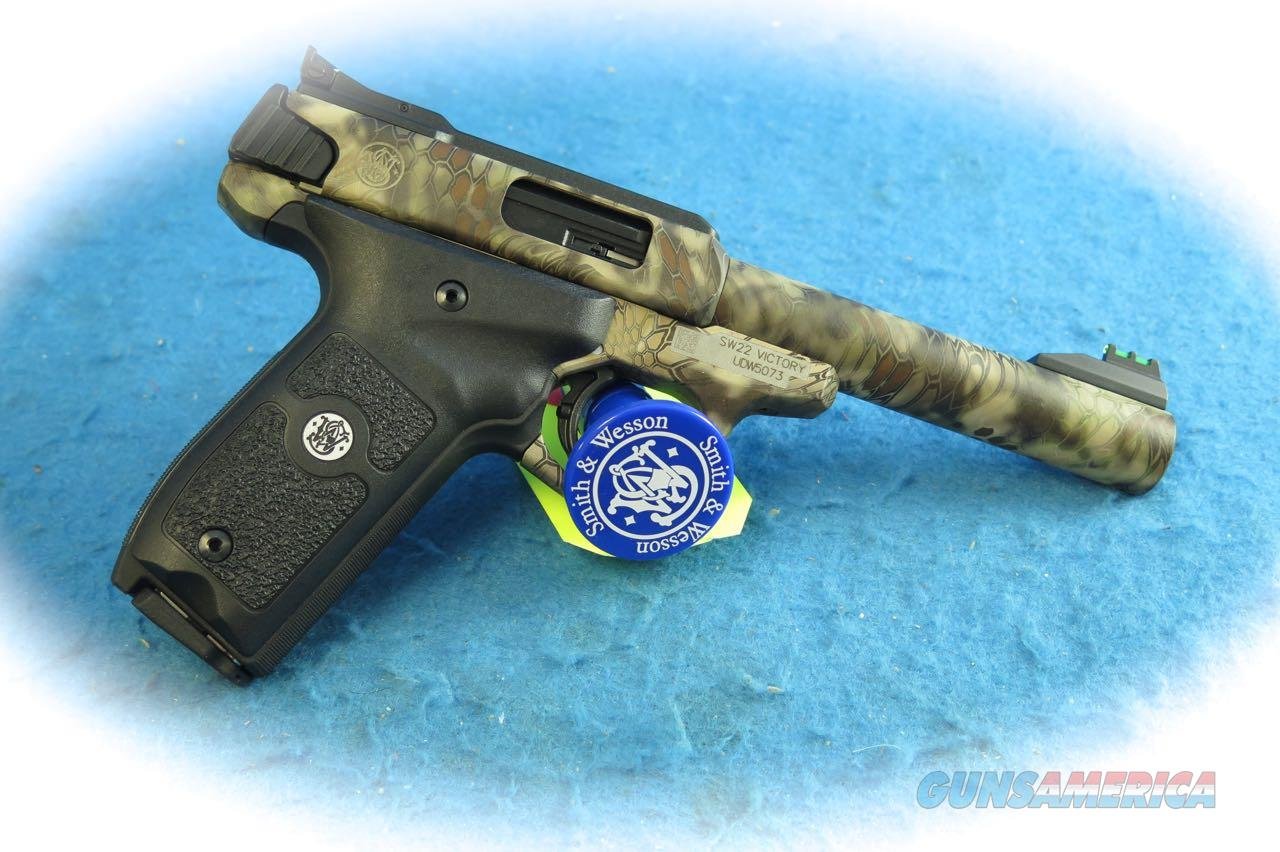 Smith & Wesson SW22 Victory Kryptek .22 LR Semi Auto Pistol SKU 10297 **New**  Guns > Pistols > Smith & Wesson Pistols - Autos > .22 Autos