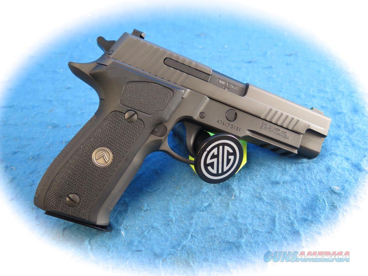 Sig Sauer P226 Legion 9mm Semi Auto Pistol **New**  Guns > Pistols > Sig - Sauer/Sigarms Pistols > P226