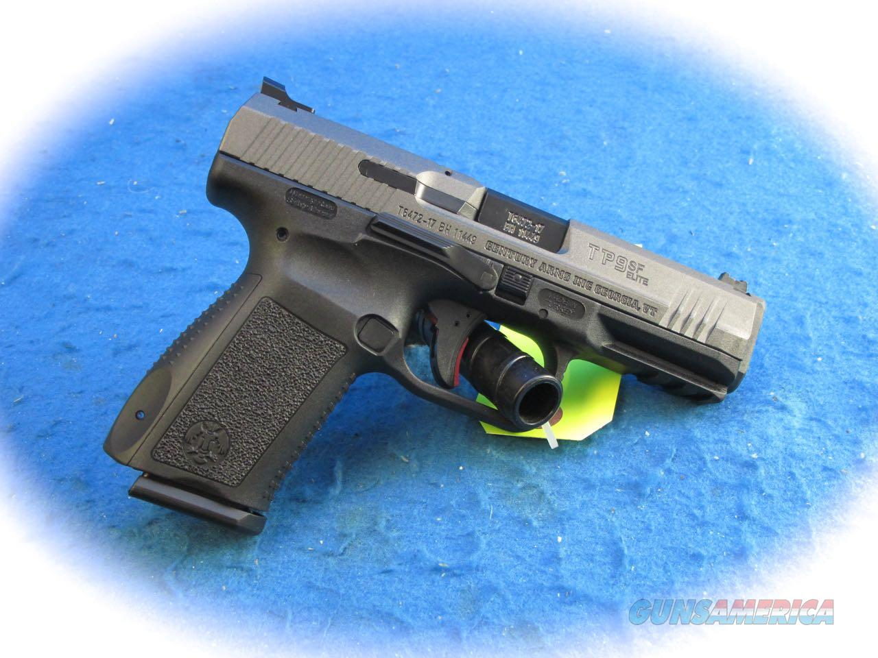 Canik TP9 SF Elite 9mm Semi Auto Pistol **New**  Guns > Pistols > Canik USA Pistols
