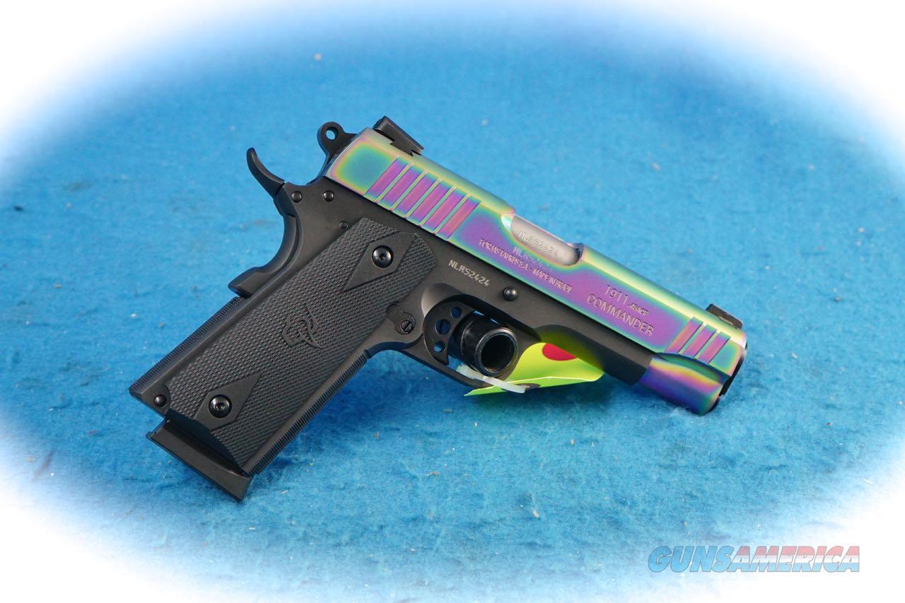 Taurus 1911 Commander 2-Tone .45 ACP Pistol **New**  Guns > Pistols > Taurus Pistols > Semi Auto Pistols > Steel Frame