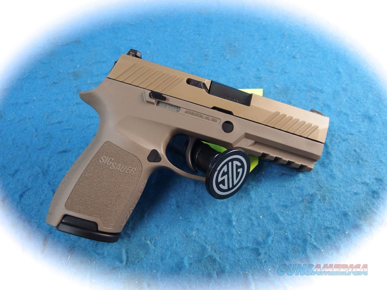 Sig Sauer P320C FDE 9mm Compact Pistol Model 320C-9-FDE **New**  Guns > Pistols > Sig - Sauer/Sigarms Pistols > P320