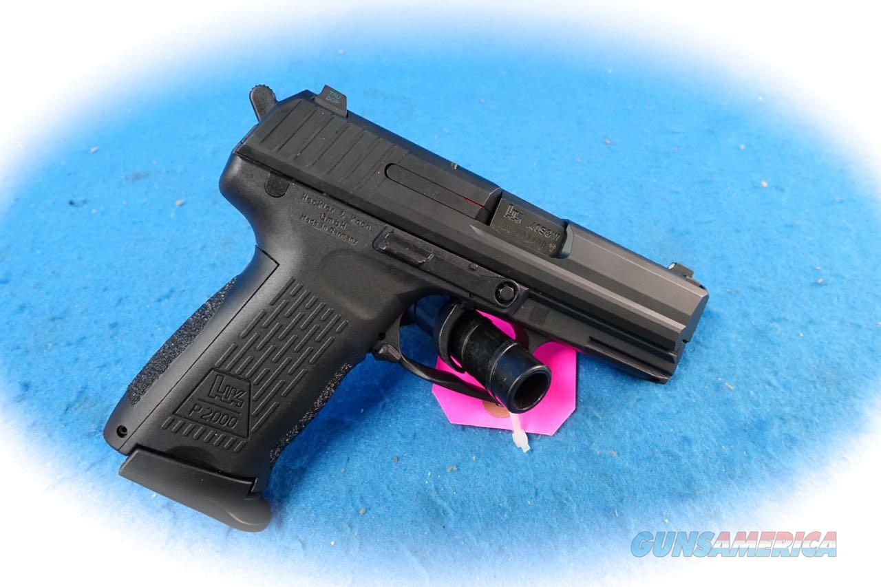 Heckler & Koch Model HK P2000 .40 S&W Pistol **Used**  Guns > Pistols > Heckler & Koch Pistols > Polymer Frame