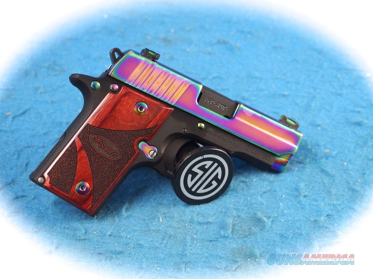 Sig Sauer P238 Rainbow .380 ACP Pistol **New**  Guns > Pistols > Sig - Sauer/Sigarms Pistols > P238