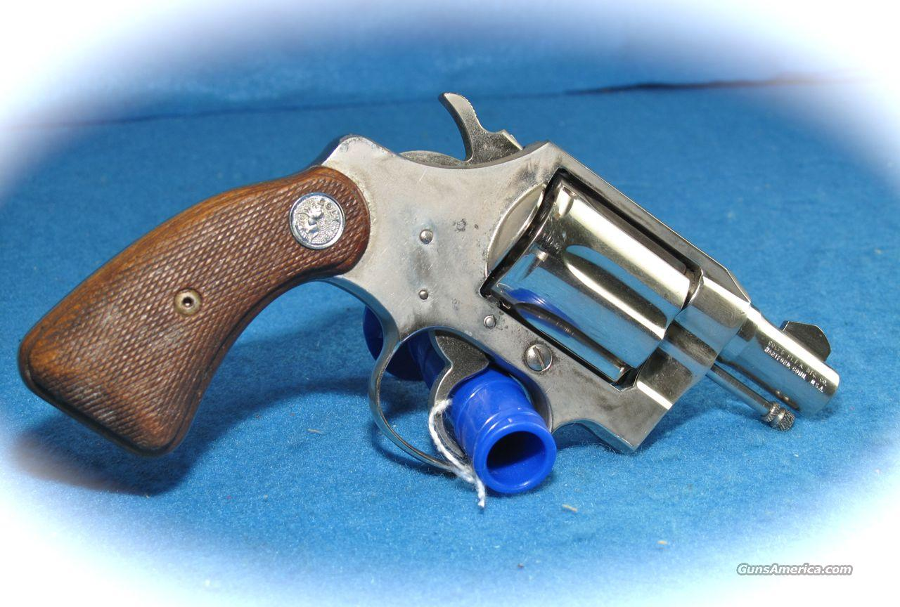 Colt Cobra 2 Inch Nickel 38 Spl. **USED**  Guns > Pistols > Colt Double Action Revolvers- Modern
