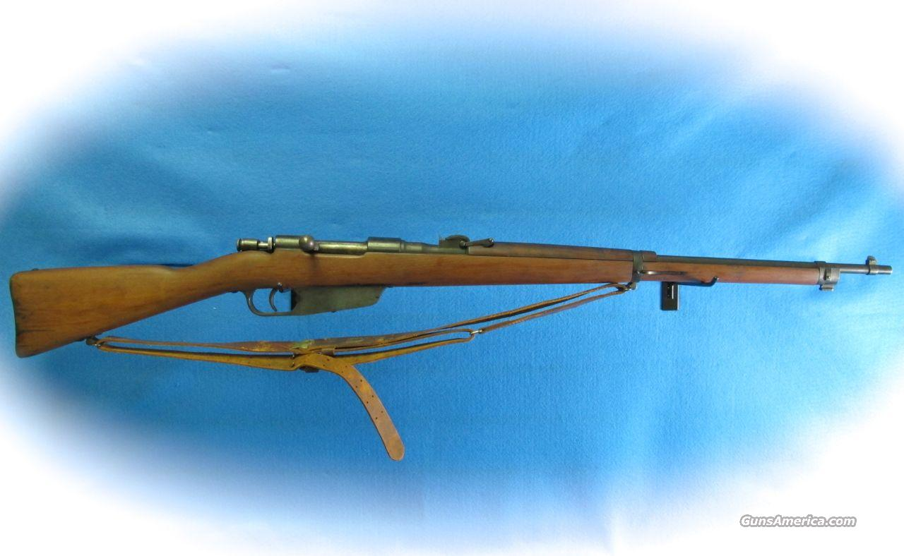 Mannlicher-Carcano 6.5x52 Bolt Action Rifle **Used**  Guns > Rifles > Military Misc. Rifles Non-US > Other