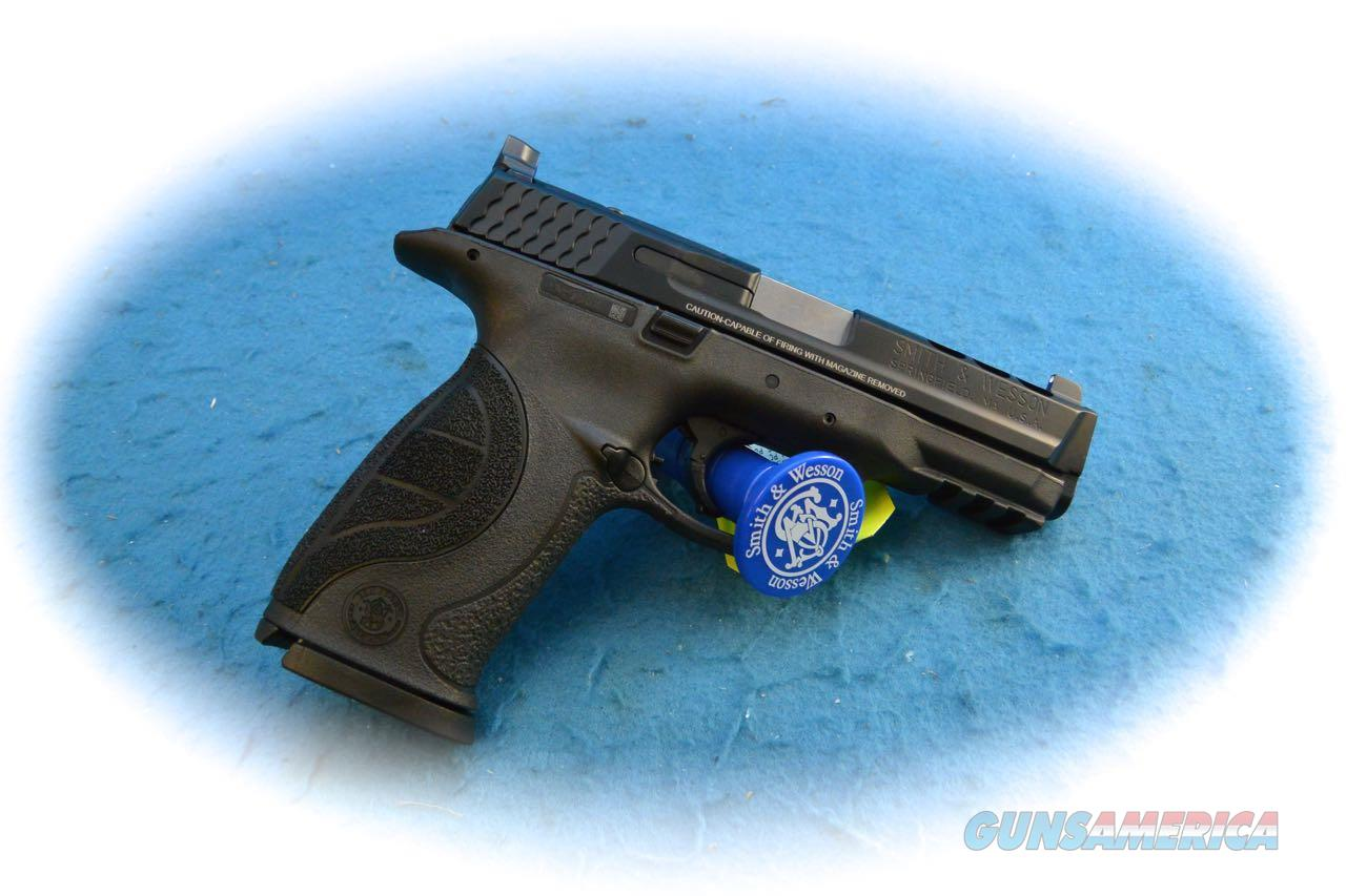 Smith & Wesson M&P9 Performance Center Ported 9mm Pistol **New**  Guns > Pistols > Smith & Wesson Pistols - Autos > Polymer Frame