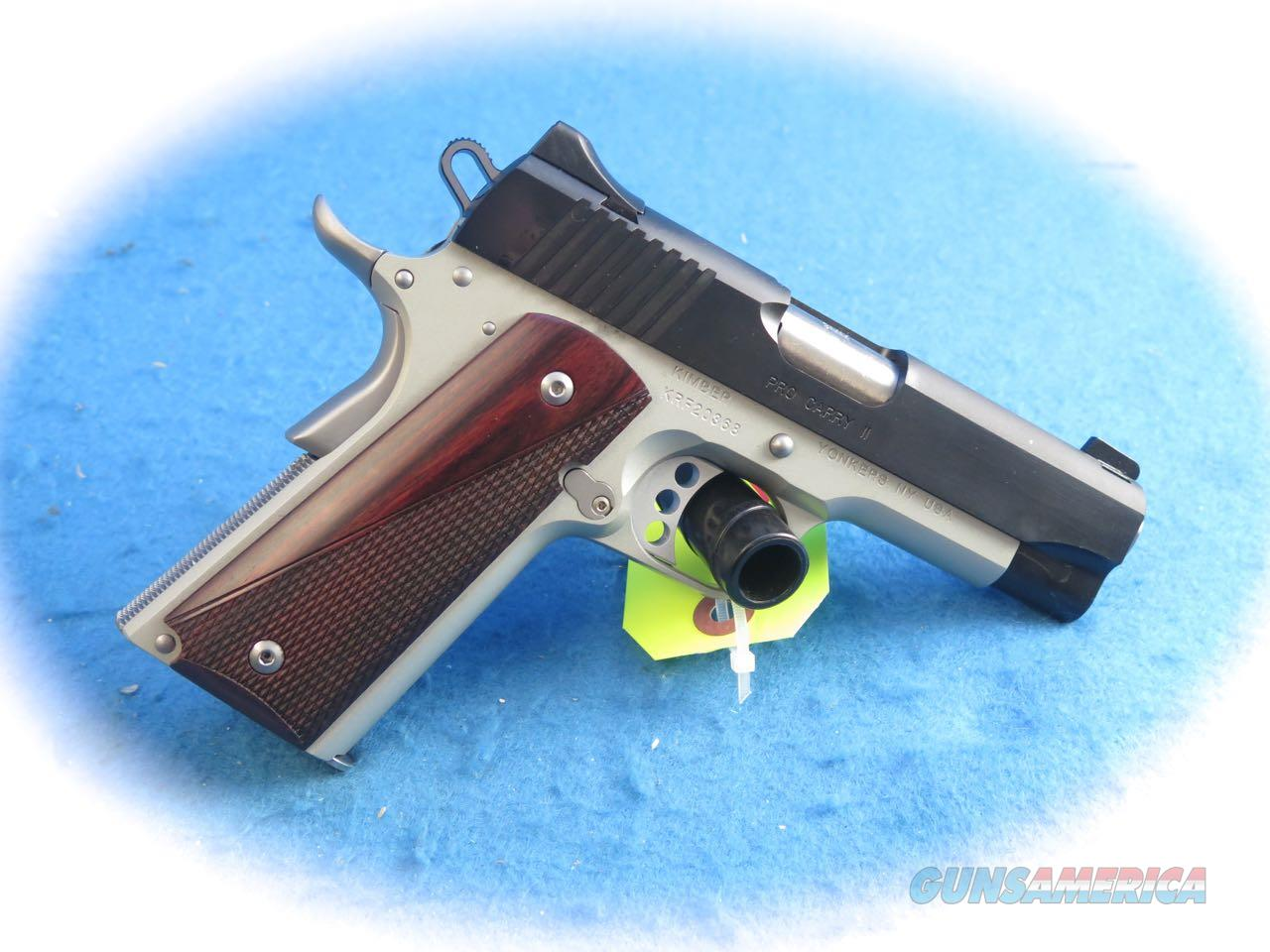Kimber 1911 Pro Carry II 9mm 2 Tone Pistol **New** Guns > Pistols >  Kimber of America Pistols > 1911