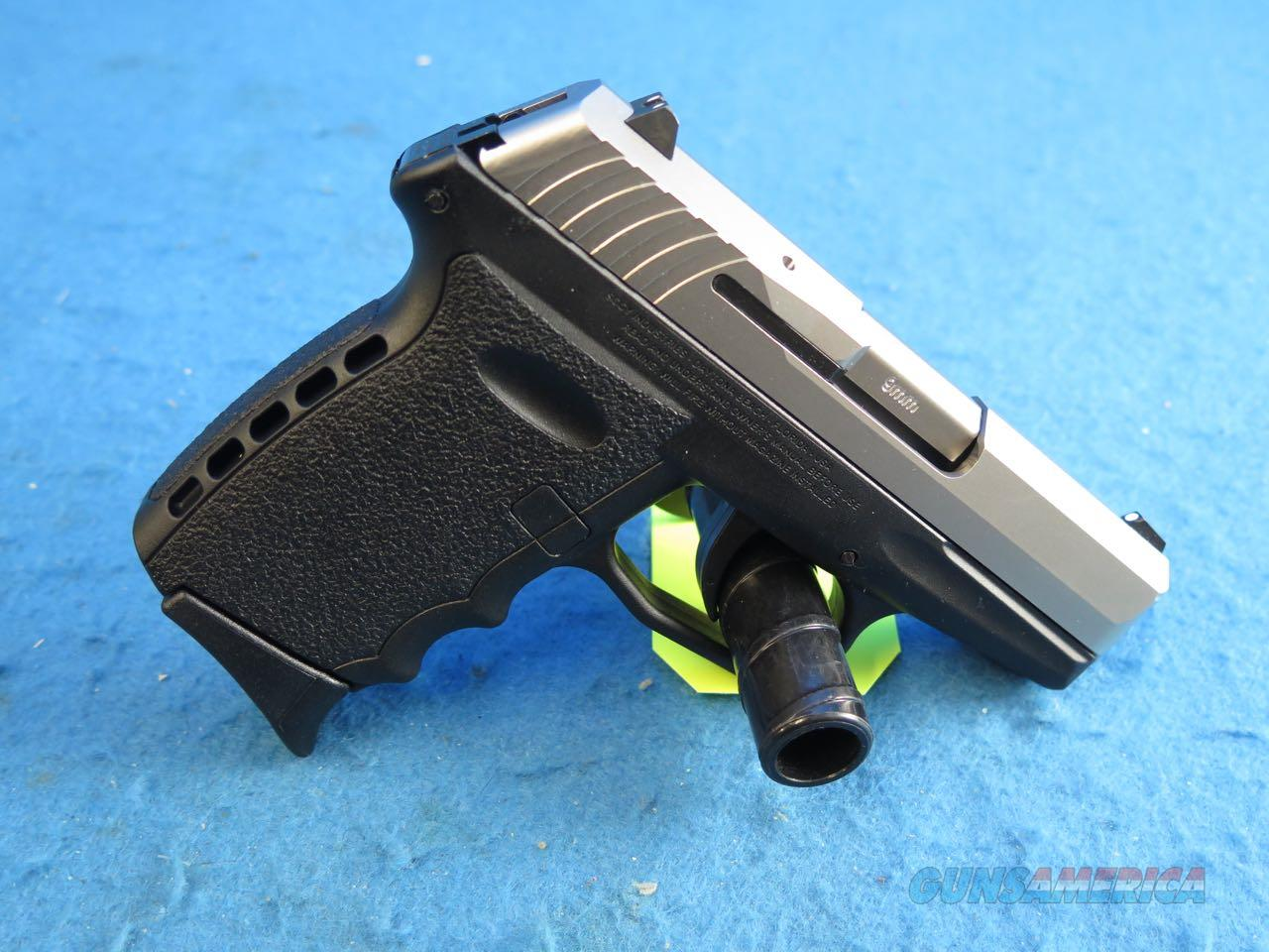 SCCY Model CPX-2 TT Black/SS 9mm Pistol **New**  Guns > Pistols > SCCY Pistols > CPX2
