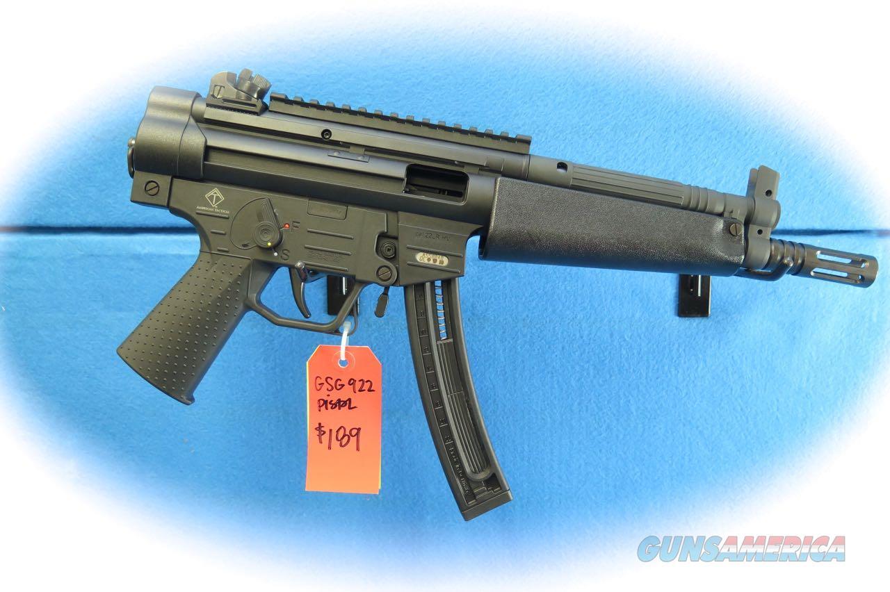 ATI GSG 522PLB .22 LR Semi Auto Pistol **New** On Sale   Guns > Pistols > American Tactical Imports Pistols