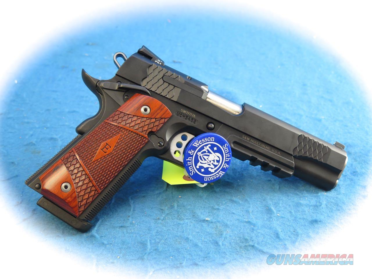 Smith & Wesson SW1911TA Tactical .45ACP  E-Series Pistol **Used**  Guns > Pistols > Smith & Wesson Pistols - Autos > Steel Frame