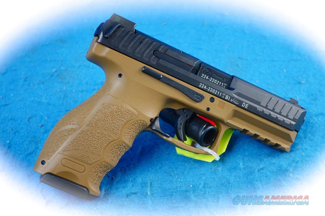 H&K VP9 FDE 9mm Semi Auto Pistol Model 700009FDELE-A5 **New**  Guns > Pistols > Heckler & Koch Pistols > Polymer Frame