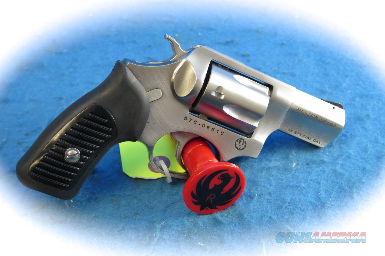 Ruger SP101 .38 Special +P SS 5 Shot Revolver Model 5737 **New**  Guns > Pistols > Ruger Double Action Revolver > SP101 Type