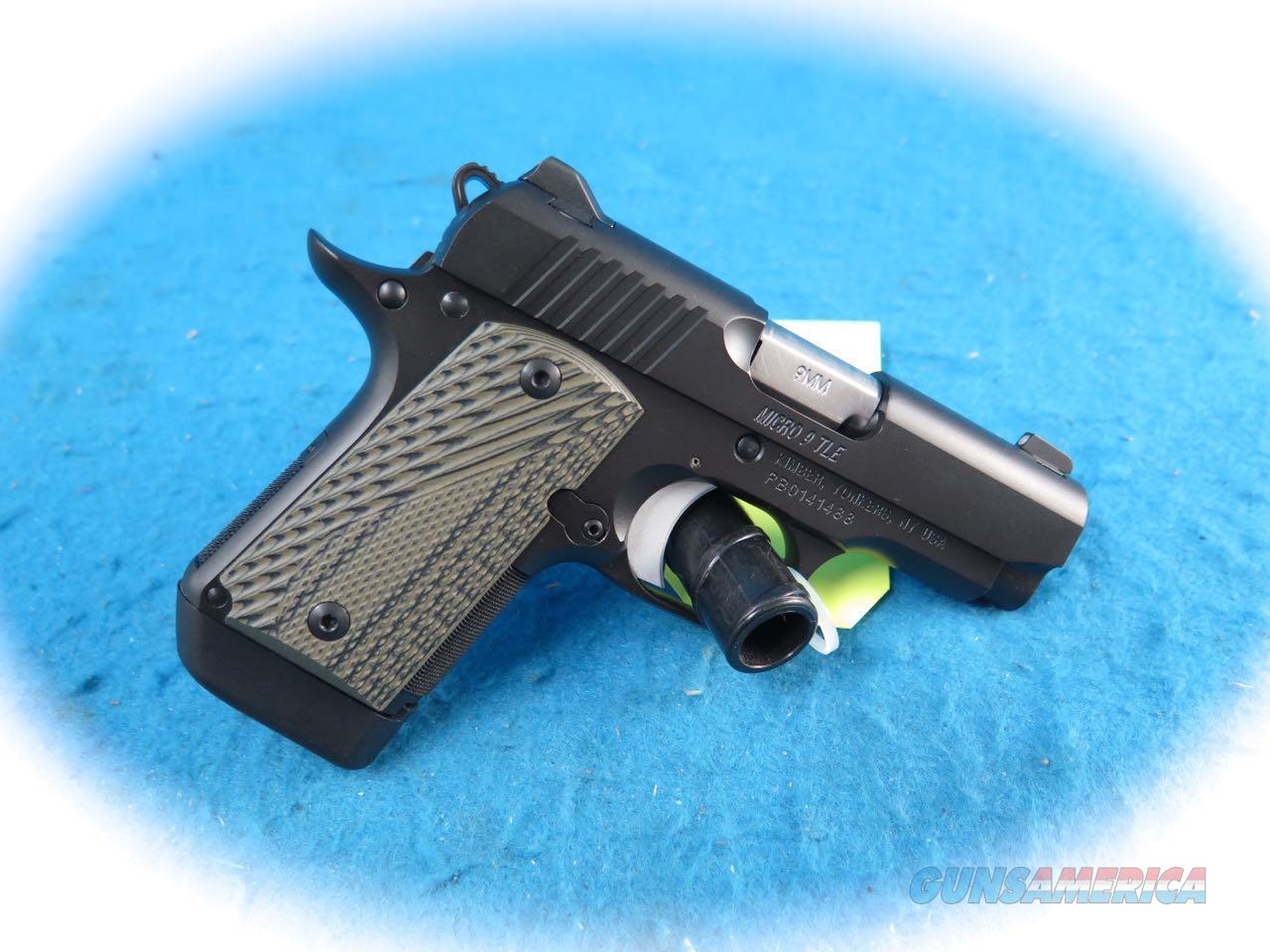 Kimber Micro 9 TLE 9mm Pistol Model 3300191 **New**  Guns > Pistols > Kimber of America Pistols > Micro 9