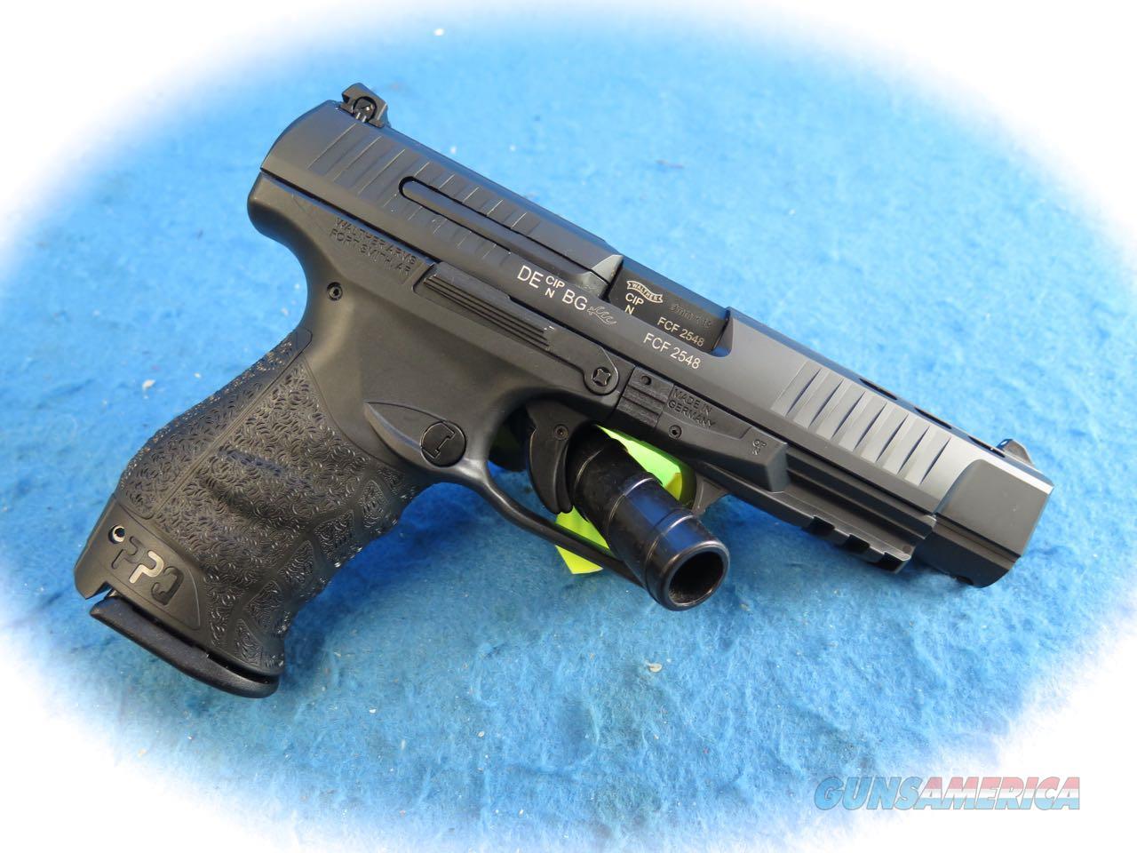 Walther PPQ M2 9mm Semi Auto Pistol Model 2796091 **New**  Guns > Pistols > Walther Pistols > Post WWII > P99/PPQ