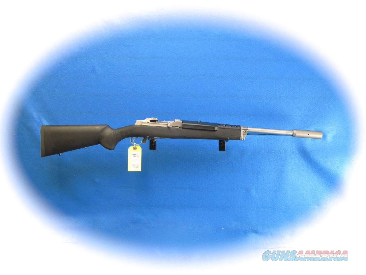 Ruger Mini-14 SS Target Semi Auto Rifle Model 5828 **New**  Guns > Rifles > Ruger Rifles > Mini-14 Type