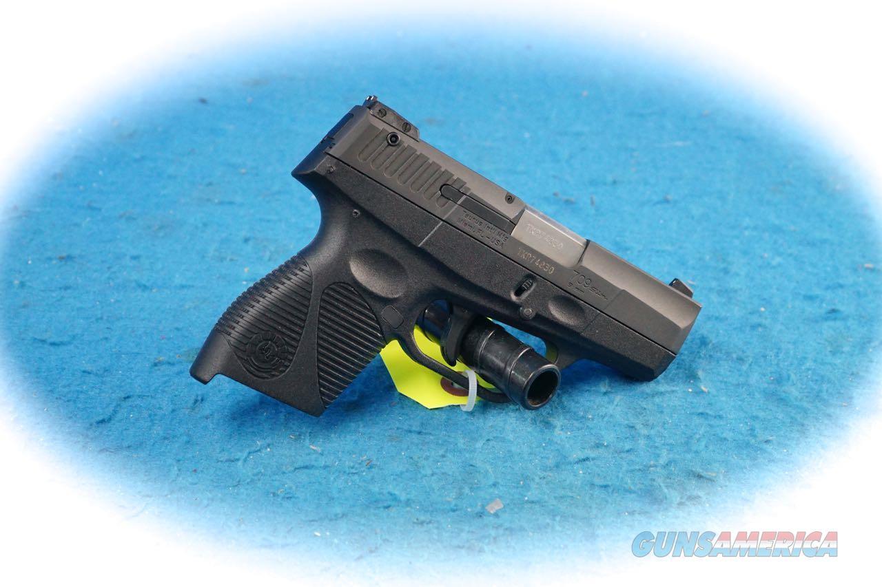 Taurus PT709 Slim 9mm Semi Auto Pistol **Used**  Guns > Pistols > Taurus Pistols > Semi Auto Pistols > Polymer Frame