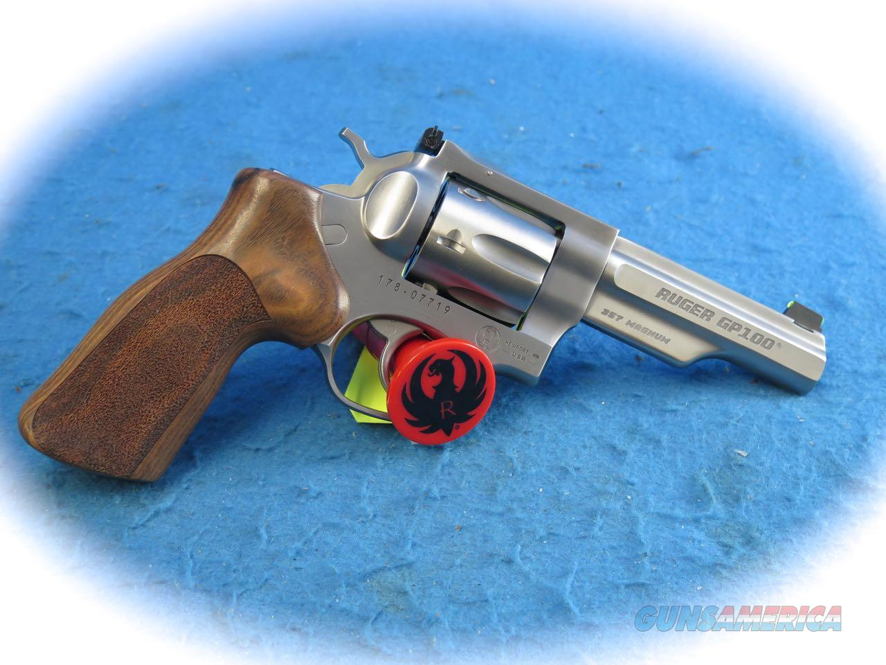 Ruger GP100 .357 Mag SS DA Match Champion Revolver Model 1755 **New**  Guns > Pistols > Ruger Double Action Revolver > GP100