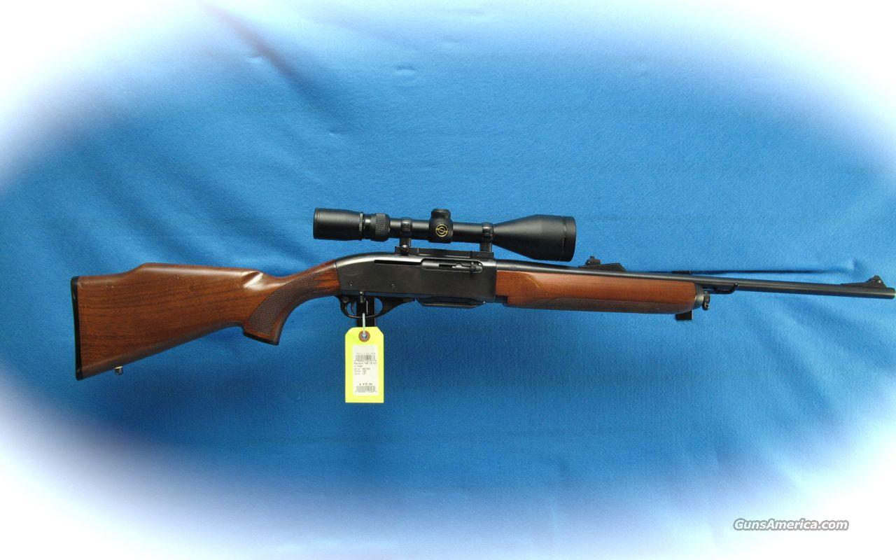 Remington Model 7400 Semi Auto Rifle 270 Win Cal w/Scope **USED**  Guns > Rifles > Remington Rifles - Modern > Other